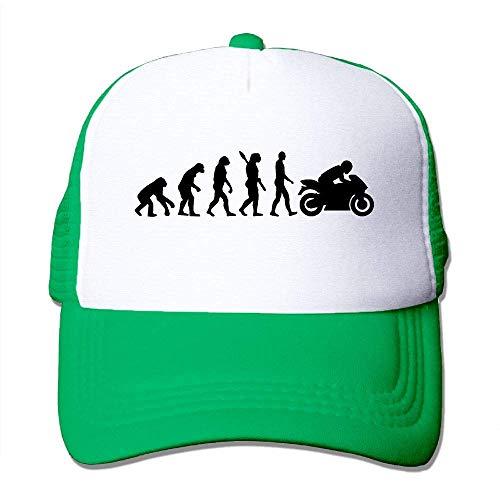 Preisvergleich Produktbild Voxpkrs Evolution of Motorräder Adjustbale Baseballmützen Tracker Cap Papa Hut U8I0013068