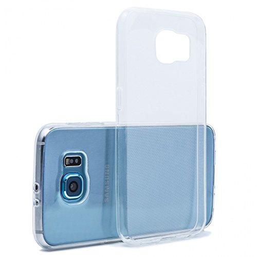 Preisvergleich Produktbild Galaxy S7 Hülle TPU Huelle Schutzhülle Crystal Case Durchsichtig Klar Silikon transparent