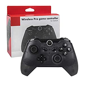 Wireless Switch Controller,TechKen Bluetooth Switch Pro Controller Kabellos Ersatz Gamepad Joystick Game Controller Gaming Zubehör für Nintendo Switch Console