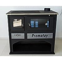 Para Cookin estufa horno con cristal prometey 11kW–Praktik–Lux