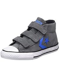 Converse Unisex-Kinder Star Player Ev 3v Mid Thunder/Black Hohe Sneaker