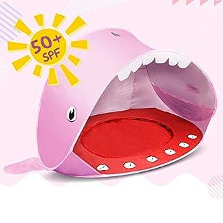 Opret Tienda Bebe, Pop-up Tiendas de Campaña con Piscina para Niños Carpa Plegable Portátil Anti UV 50+ Protector Solar, Estilo de Ballen