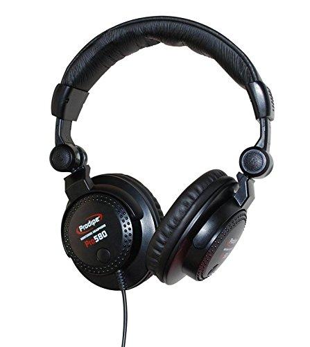 Prodipe 60032 Professional 580 Kopfhörer, schwarz (Aufzeichnung Auf Dvd-player)