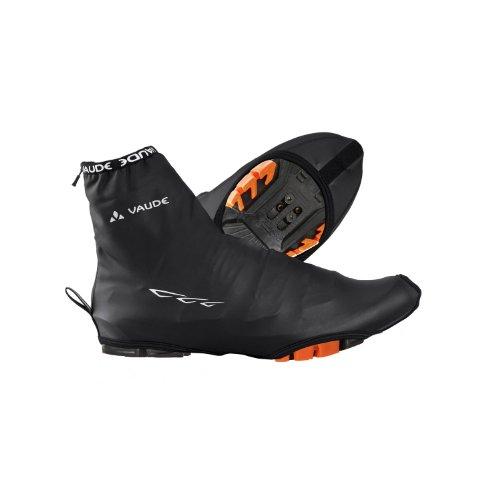 Wet Gewebe (Vaude Shoecover Wet Light - Rad Überschuh, Größe:36-39;Farbe:black, 36-39, Schwarz)