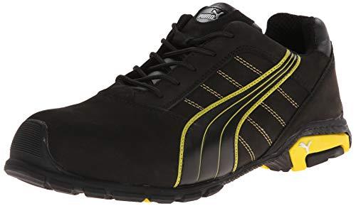 Preisvergleich Produktbild PUMA Safety Black Mens Leather Amsterdam Low SD WRU at Oxfords Work Boots 12 W