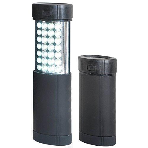 Uni-Com Pop Up lampe de travail et lampe de poche, Noir