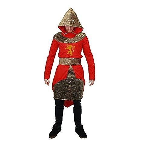 Adultes House de Game of Thrones Prince Peignoir à Capuche Imprimé Fancy Dress Costume