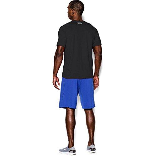 Under Armour Herren UA Tech Ss Fitness T-Shirt, Schwarz, XXL - Bild 8
