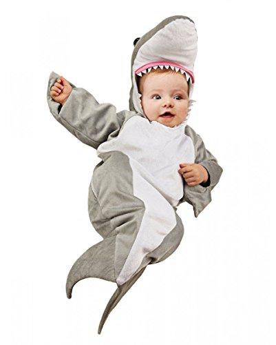 s Kostüm für den Karnevelaszug oder die Faschingsparty One Size (Baby Hai-kostüm)