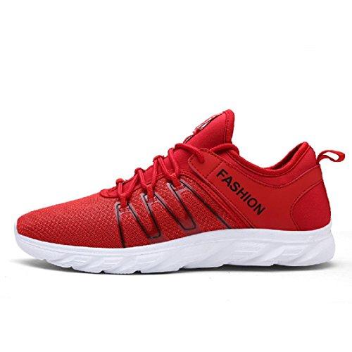 Vermelhos Dos Sapatos Tênis Calçados Fora Homens Esportivos Formação Lazer Viajar wxZ8qT1CT