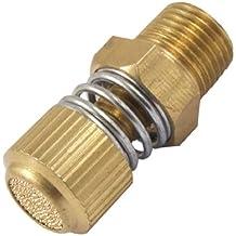 """Sourcingmap - 3/8 """"maschio ottone filo pneumatica silenziatore di scarico marmitta raccordo per la valvola"""