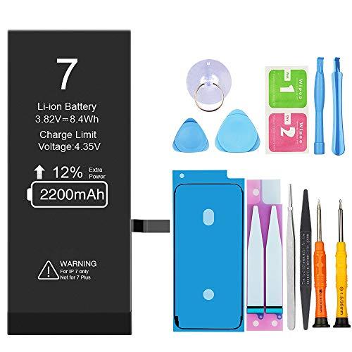 Vancely 2200mAh Batería iPhone 7 Alta Capacidad