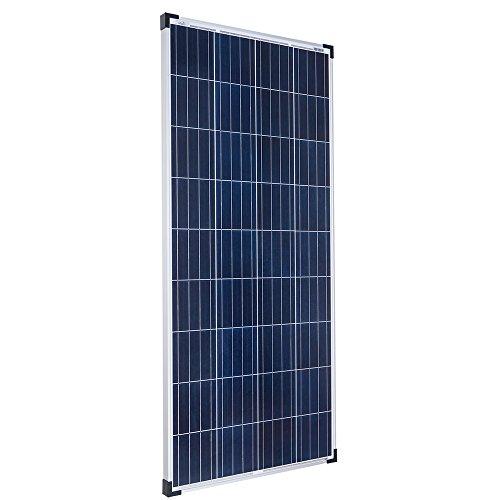 Offgridtec 160W 12V polykristalline Solarzelle Wohnwagen Garten Solarpanel -