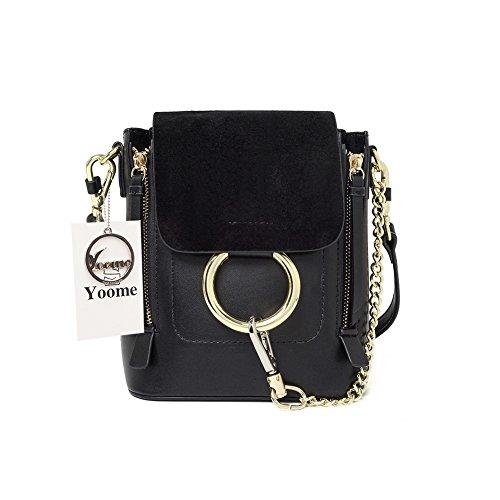 Woolala Casual Damen Retro Circular Ring Chain Bag Fashion Dull polnischen Make-up Tasche für - Supply Chain Kostüm