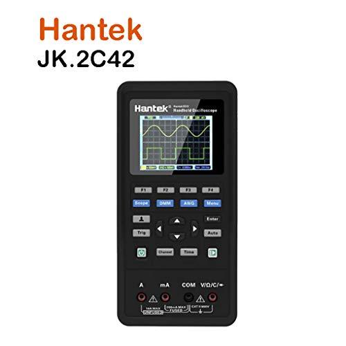 Topker 3 in 1 Digital-Oszilloskop/Signalgenerator Multi Portable USB 2 Kanäle LCD-Display Test Meter-Tool