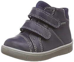 Superfit Baby Jungen Ulli_800423 Gore-Tex Sneaker, Blau, 25 EU