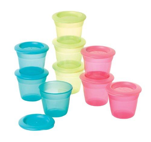 Tommee Tippee - Recipiente para comida infantil (3 unidades, varios colores)