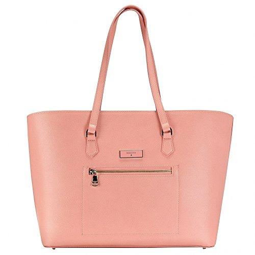 Patrizia Pepe Candy Cadillac Shopper Borsa tote Pelle 36 cm softie rose