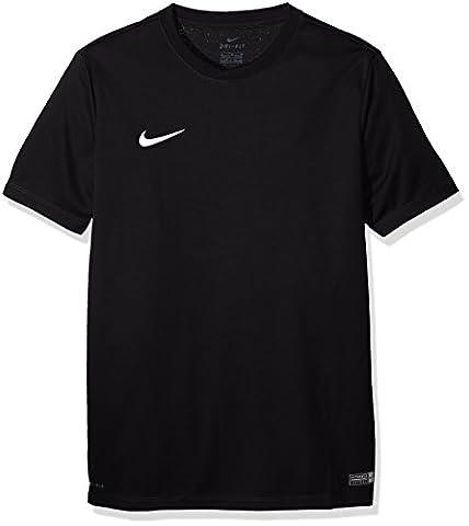 Nike Park VI Maillot manches courtes Enfant Noir/Blanc FR : S (Taille Fabricant : S)