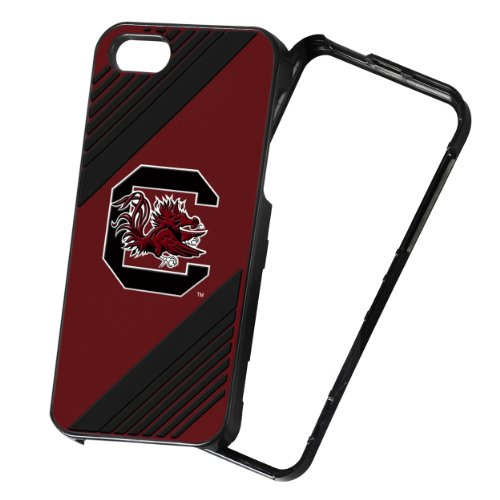 Forever Collectibles NCAA 2-Piece Snap-On iPhone 5/5S Polycarbonate Case - Retail Packaging - South Carolina Gamecocks