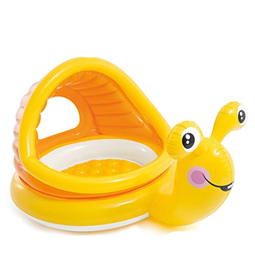 Bouncy Castles Sports Toys Children's Game Fence Inflatable Toy Fence Summer Children's Pool Indoor Children's Inflatable Animal Toy (Color : Yellow, Size : 102 * 145 * 75cm)