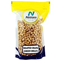 Neelam Foodland Low Fat Green Chilly Roasted Chana (400G)