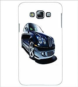 PRINTSWAG BLACK CAR Designer Back Cover Case for SAMSUNG GALAXY GRAND 3