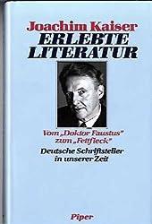 Erlebte Literatur