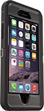OtterBox 77-52176 Serie Defender Custodia per Apple iPhone 6/6s, Nero