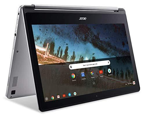 Acer Chromebook R 13 Convertible CB5-312T-K40U 33,8 cm (13,3 Zoll) Full HD IPS Touch, MediaTek MT8173C, 4GB LPDDR3, 64GB eMMC(US Tastatur und Stecker)