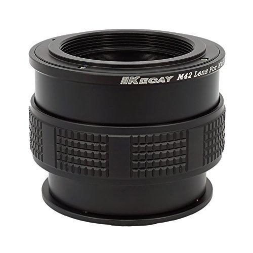 KECAY Macro Focusing Helicoid, Objektiv Adapter M42 42mm Screw Mount Objektiv für Micro 4/3 Four Thirds System Kamera, für Olympus Panasonic Lumix Kamera M42 Screw Mount
