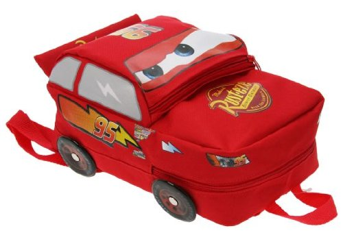 Imagen de colecciones disney cars piston forma de bolsa de marca copa lightening mcqueen  escolar alternativa