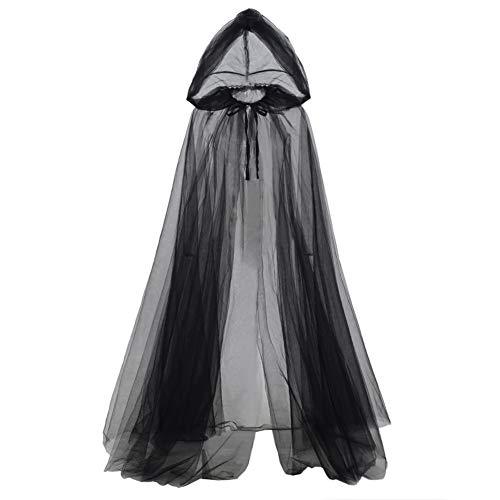 Böse Königin Halloween - GRACEART Umhang mit Kapuze Zubehör für