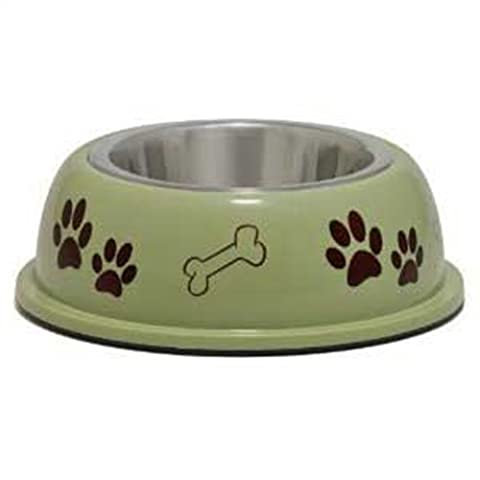 Loving Pets Dolce Dish Dog Bowl, Small, 1 Pint, Pesto by Loving Pets (English Manual)