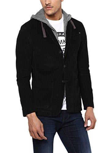 Mufti Cotton Blazer-msb-500-black