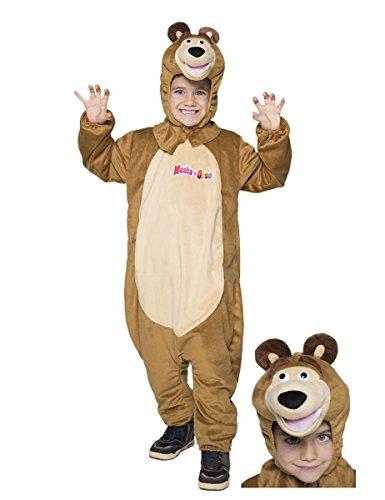 60eecebb199f Costume di carnevale di masha e orso per bambine 5 anni | Grandi ...