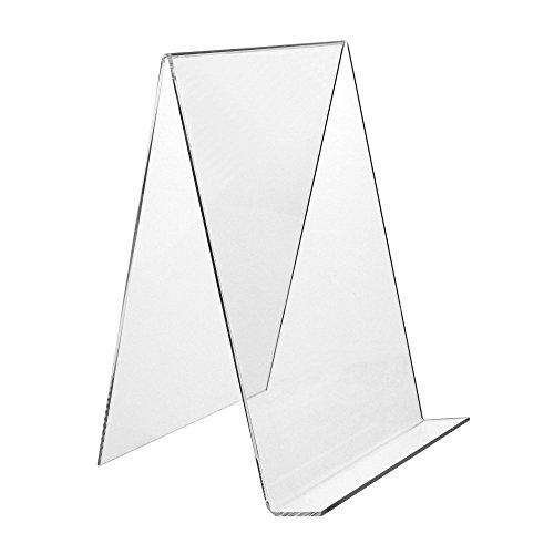 DIN A4 Buchstütze/Buchständer / Warenstütze/Warenträger aus Acryl