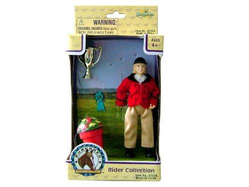 Unbekannt BuzzBeeToys Breimeir 437 00752 - Reiter Figur mit Zubehör 4-fach sortiert