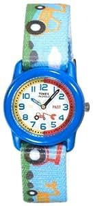 Timex Kids T7B6114E Analogue Time Teacher Blue Tractor Watch