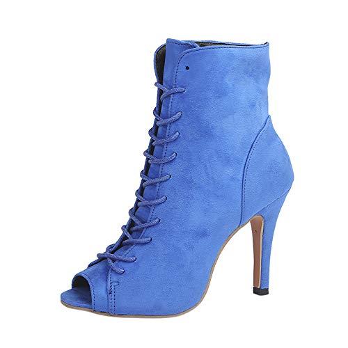 Zapatos Flecos Botas Al Tobillo Botas Mujer EN Negro