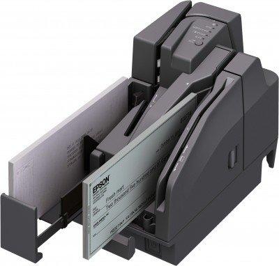 Epson TM-S2000MJ (132) Stampante per Ricevute, 200DPM, 1Pocket, USB, w/o MSR