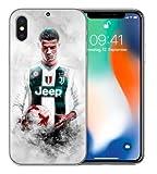 TN CASES STORE Coque iPhone 7+ Plus et iPhone 8+ Plus Cristiano Ronaldo CR7 Football Juventus Silicone Souple