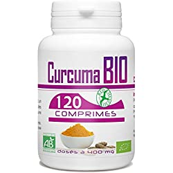 Curcuma Bio–400mg–120Pastillas