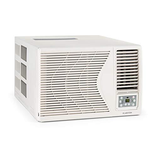 KLARSTEIN Frostik 12 Aire Acondicionado de Ventana - 12000 BTU, 4 Niveles circulación Aire, Bajo Consumo...
