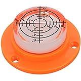 HITSAN 50x17mm Diameter Disc Bubble Spirit Level Round Circle Circular Tripod Bullseye One Piece