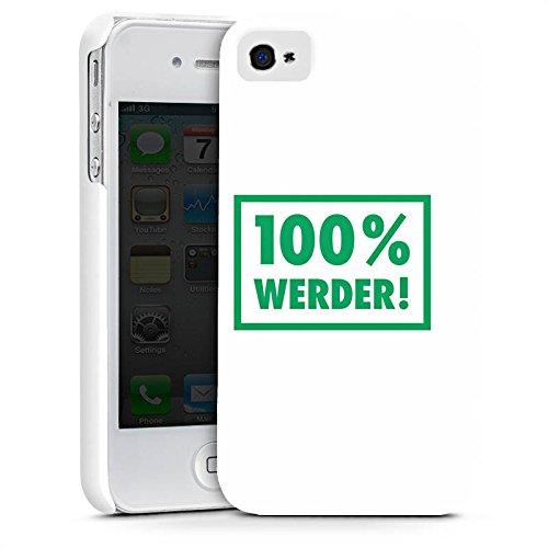 Apple iPhone X Silikon Hülle Case Schutzhülle SV Werder Bremen Fanartikel Bundesliga Premium Case glänzend