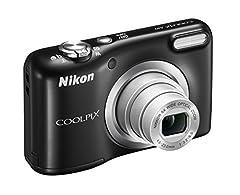 Idea Regalo - Nikon Coolpix A10 Fotocamera Digitale Compatta, 16 Megapixel, Zoom 5X, LCD 2,8