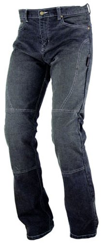 *A-pro Ladies Womens Motorbike Motorcycle Stretchy Denim Jeans With CE Armour Black 28*
