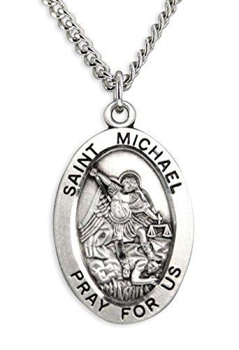 centro-de-hombre-saint-michael-colgante-ovalado-plata