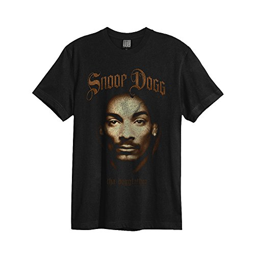 Amplified Uomo Maglieria/T-Shirt Snoop Dogg - Dogfather Black